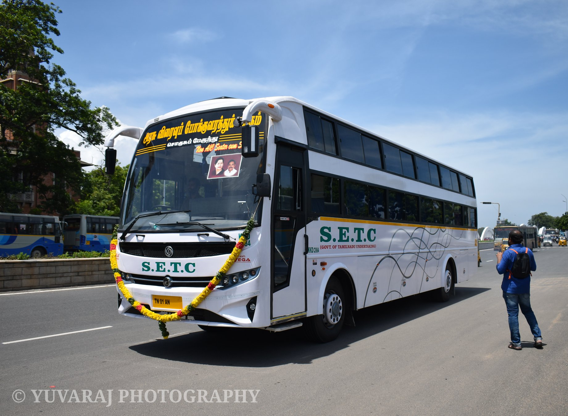 Salem To Chennai Non AC Seater Cum Sleeper Bus Service Timings