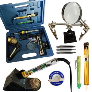 Whatnot Widgets 12 Piece Electronic Soldering Iron Kit reviews