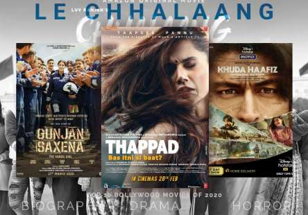Top 10 Bollywood Movies of 2020