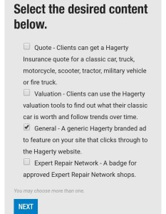 Making money from Hagerty Insurance Agency