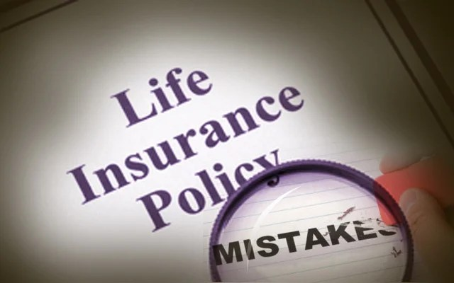 Top life insurance mistakes to avoid like a plague if you want to grow