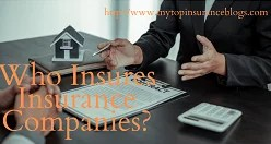 who insures insurance companies