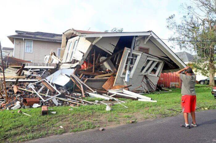 Pre-loss inspection for property damage claim in New Orleans, Louisiana