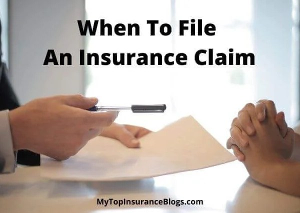 When to File an Insurance Claim in the United States