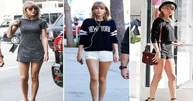 Why Taylor Swift insured her legs of 40 million dollars