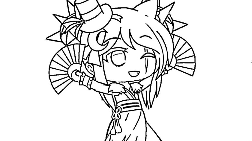gacha life coloring pages. new unique collection. print