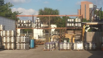 The kegs and supplies that make Orlando Brewery run