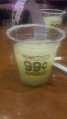 99 cent Margarita at Fiesta Henderson