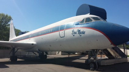 One of Elvis' two planes: the Lisa Marie
