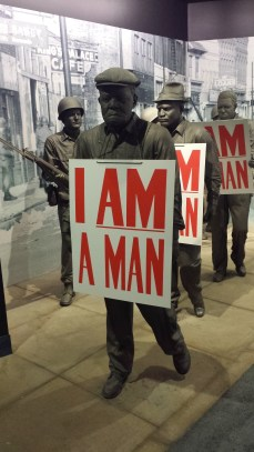 I Am A Man protests of the Memphis Sanitation Strike