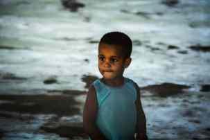 petit cubain dans le parc national de finales