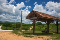 gare de train dans le parc national de cuba