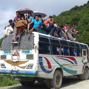 Toit bus nepal