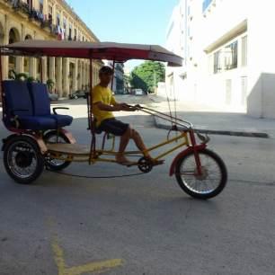 Velo Taxi Cuba