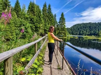 Voyage Vosges Lac de Lispach