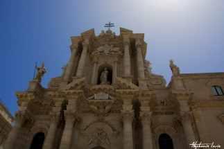 cathedrale sur la plage principale de ortygya