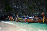 plage de koh phi phi long tail