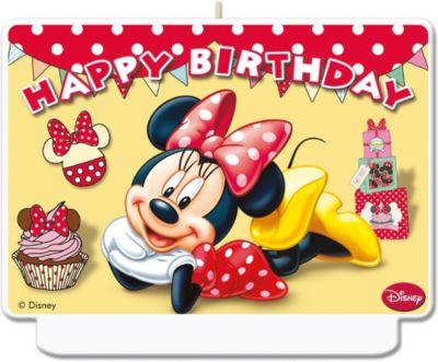 Kerze Happy Birthday Dekor Minnie Cafe Disney Minnie Mouse Mytoys