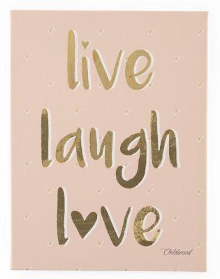olgemalde live laugh love 40x30 cm childhome