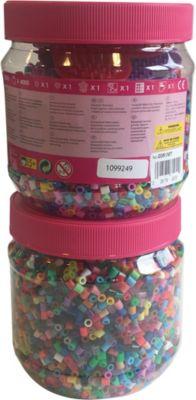 Hama Bugelperlen Maxi Eimer 3000 Perlen 3 Platten Kraft