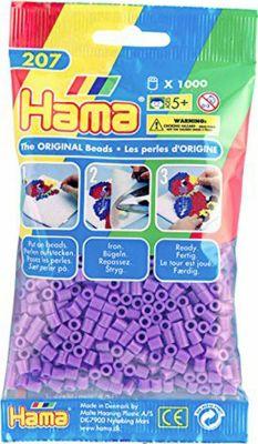 Hama 227 02 Perlen Creme 1000 Stuck Bugelperlen