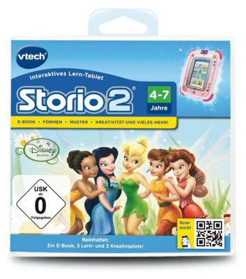 Storio 2 3 Lernspiel Tinkerbell Disney Fairies Mytoys