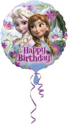 Folienballon Frozen Happy Birthday Disney Die Eiskonigin Mytoys