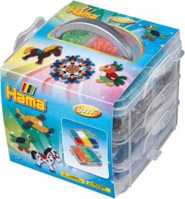 Hama 3716 Original Bugelperlen Kreativbox Schmuck Ca 2400