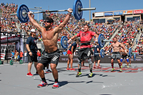 Rich Froning, Central East and Matt Chan, South West