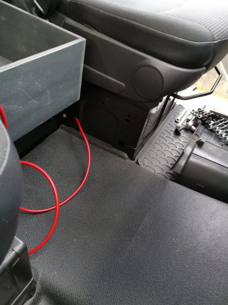 Leitungen Kabel verlegen