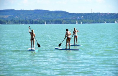 Wo darf ich Stand Up Paddle Board fahren