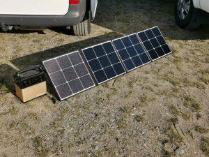 PowerOak 120W faltbares Solarmodul Test