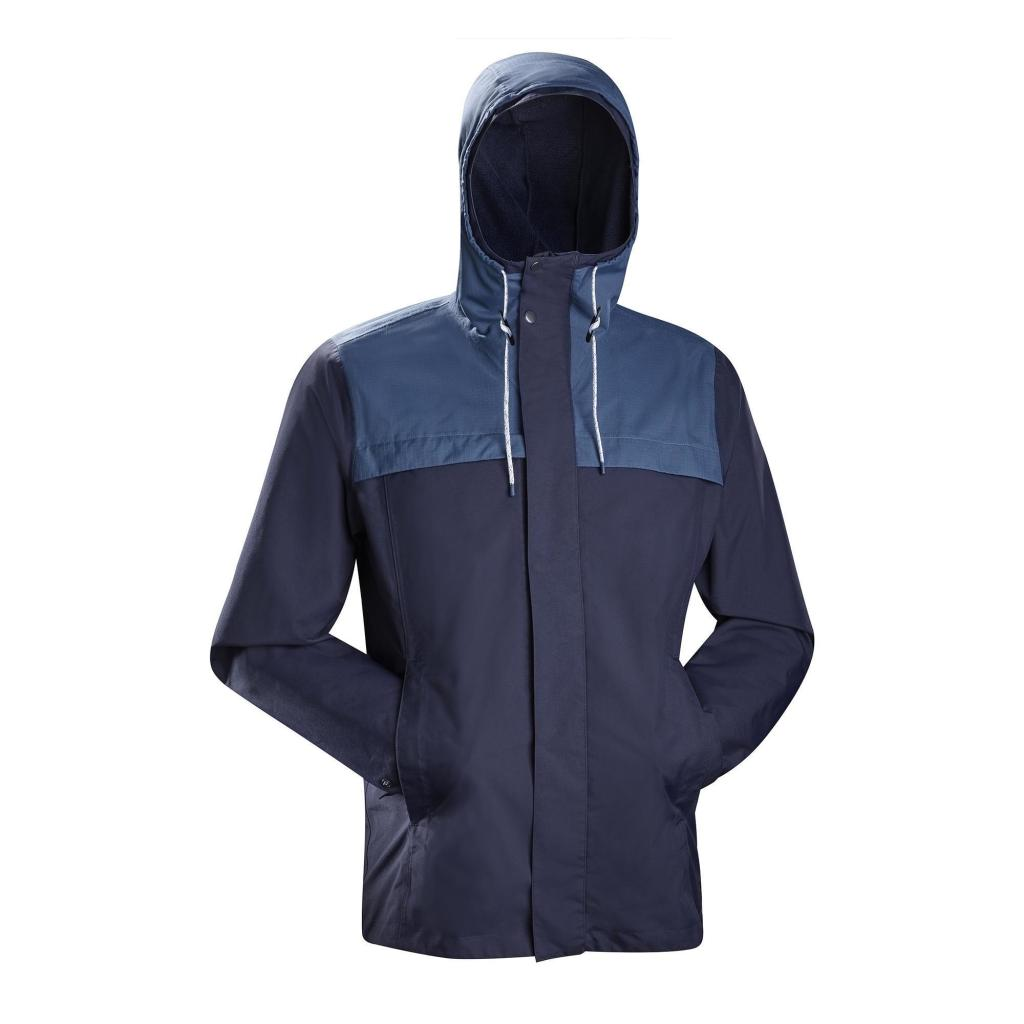 3 in 1 jacke travel 100 herren blau