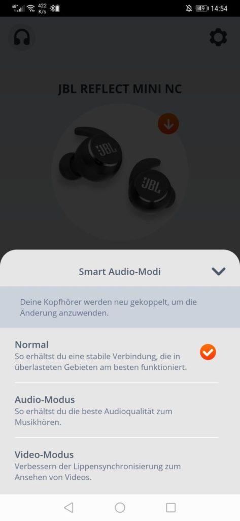 Smart Audio Mode