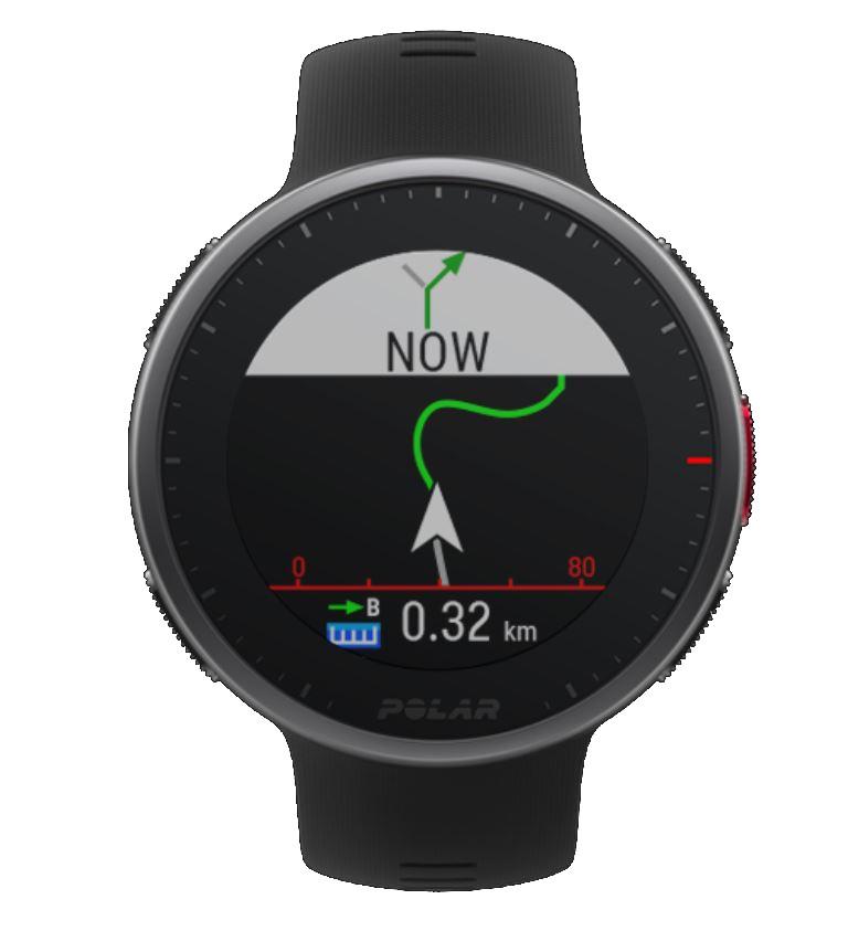 Polar Vantge V2 GPS Uhr mit Kartendarstellung