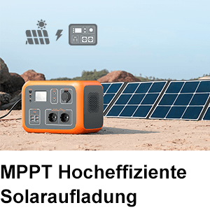 integrierter MPPT Laderegler