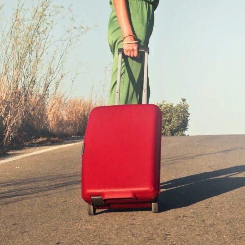 Reisetasche mit 2 Rollen Test