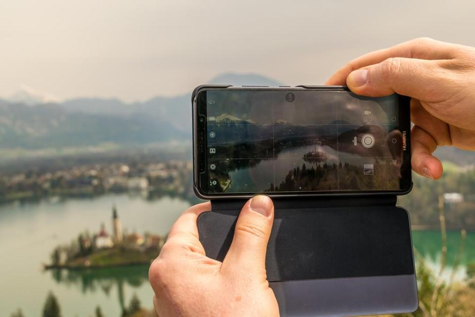 Huawei Mate 10 pro test aparatu