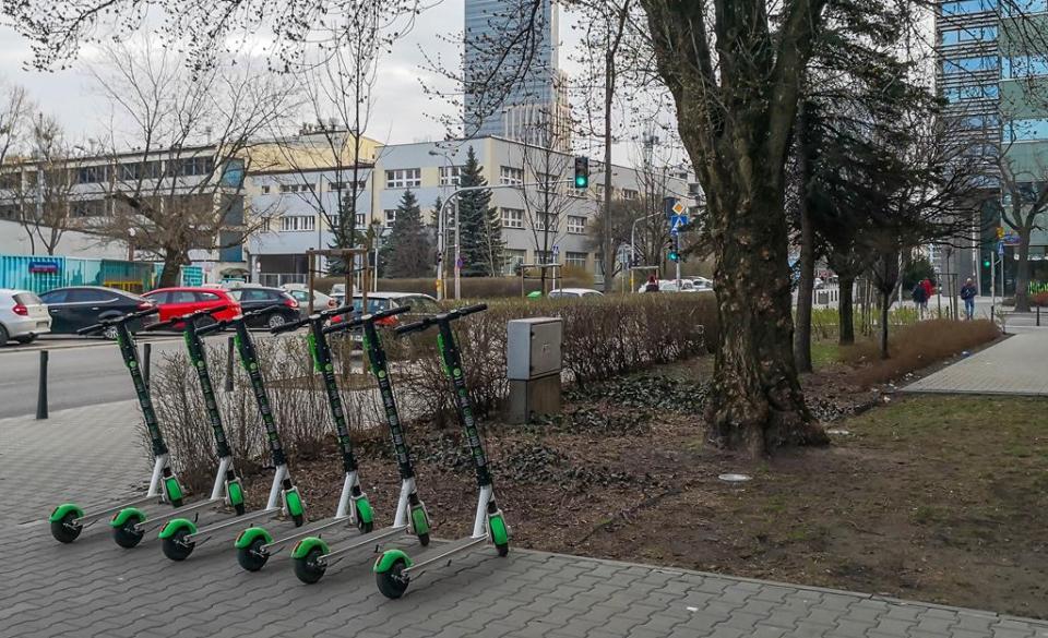 Hulajnogi Lime Warszawa