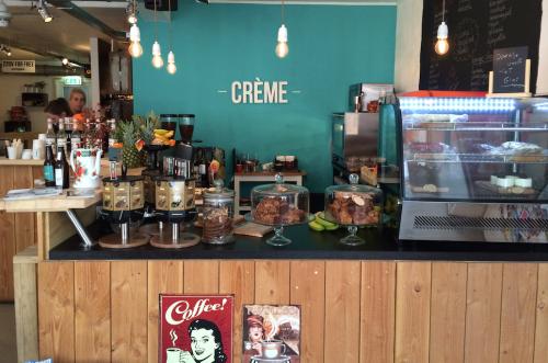 Creme coffee & pastry