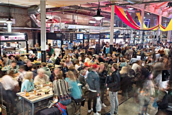 De Foodhallen openen in Rotterdam