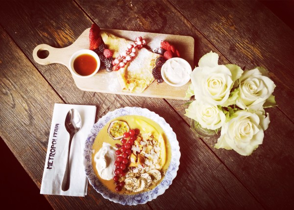 best smoothie bowl lunch Rokin Amsterdam City Center