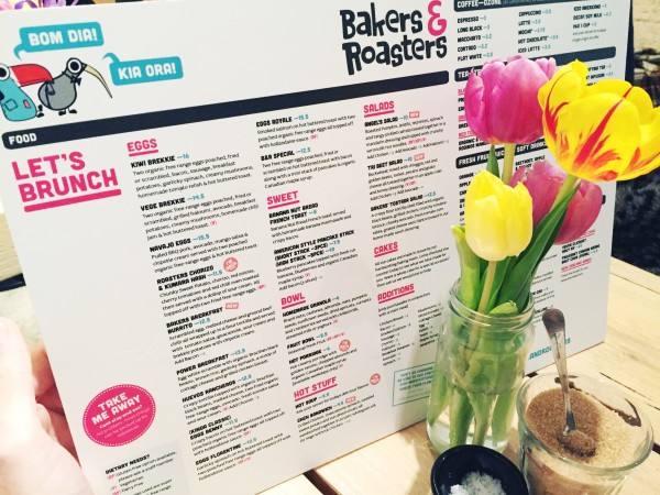 Bakers and Roasters best breakfast lunch amsterdam