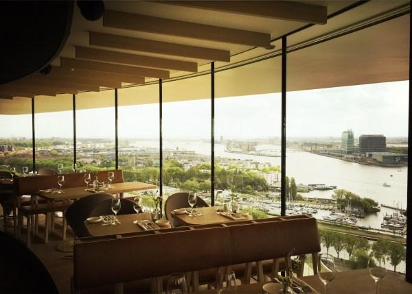 Moon restaurant ADAM toren Noord