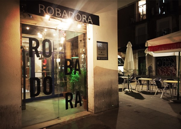 Robadora Hippe Tapas El Raval Barcelona