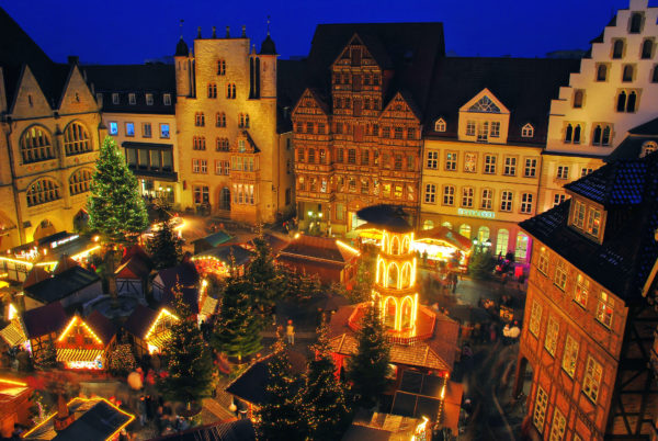 Kerstmarkten in Duitsland