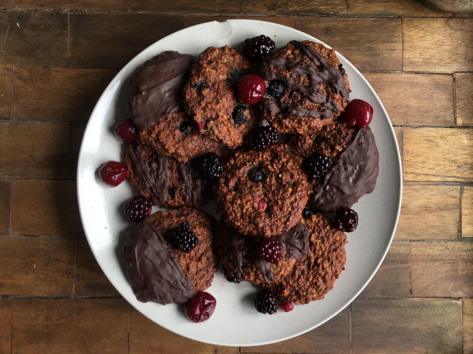 Suikervrije havermout koekjes