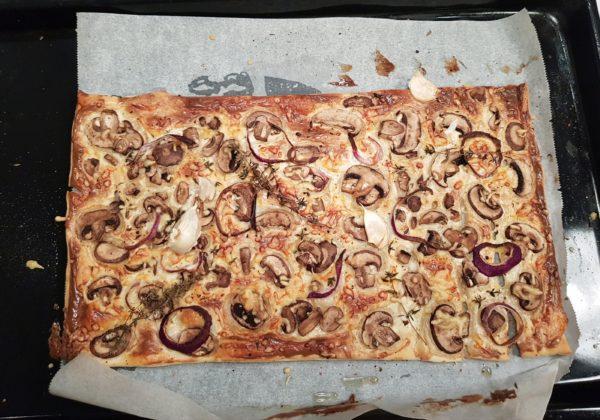 Truffel champignon plaattaart