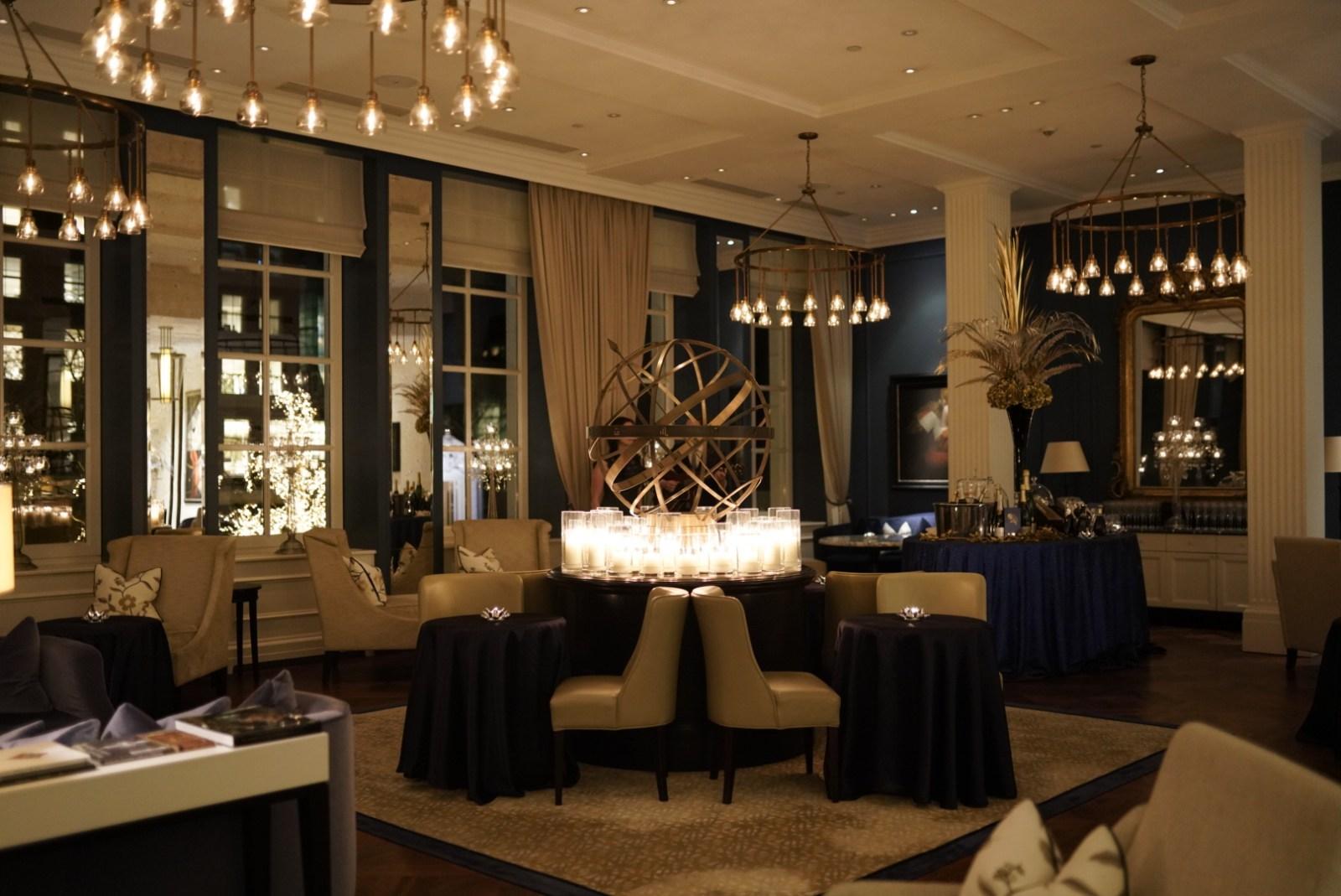 Sfeervol loungen in het Waldorf Astoria Amsterdam
