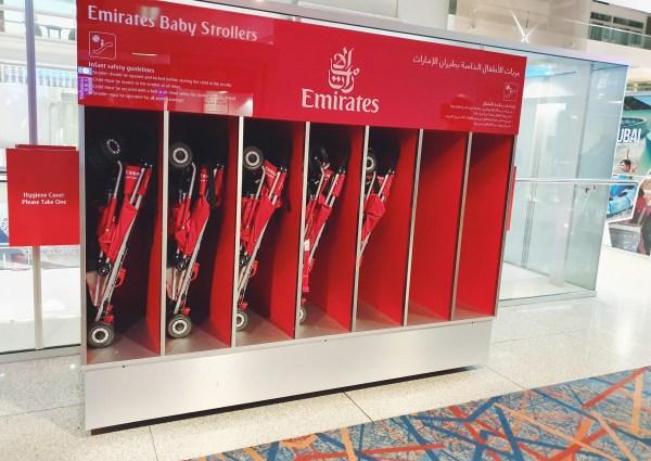 buggy's bij emirates